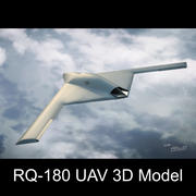 RQ-180無人偵察機 3d model