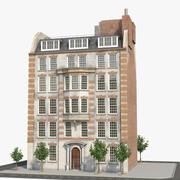 Bâtiment B de Londres 3d model