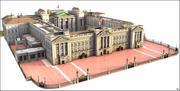 Buckingham Palace, Londres. 3d model