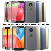 Motorola Moto E4 & Moto E4 Plus Collection 3d model