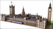 Chambre des parlements (Palais de Westminster), Londres. 3d model
