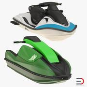 Kolekcja skuterów wodnych 3d model