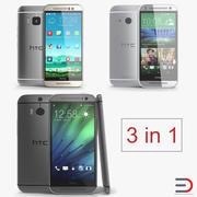 HTC Phones 3D Modelsコレクション 3d model
