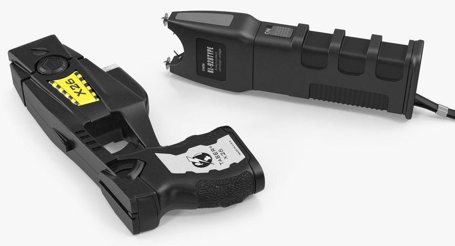 电动武器收藏 royalty-free 3d model - Preview no. 4