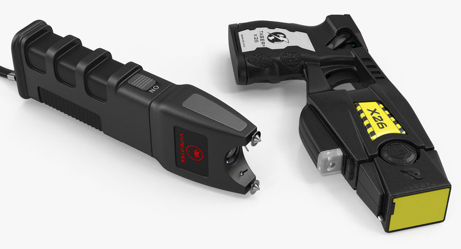 电动武器收藏 royalty-free 3d model - Preview no. 5