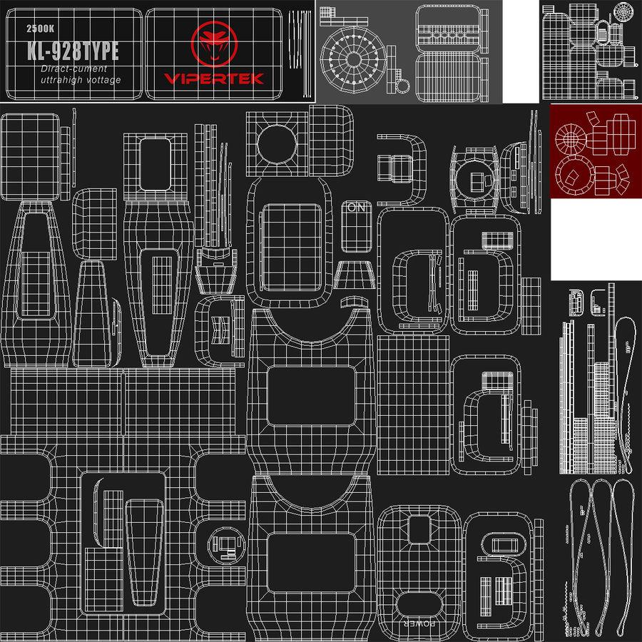电动武器收藏 royalty-free 3d model - Preview no. 23