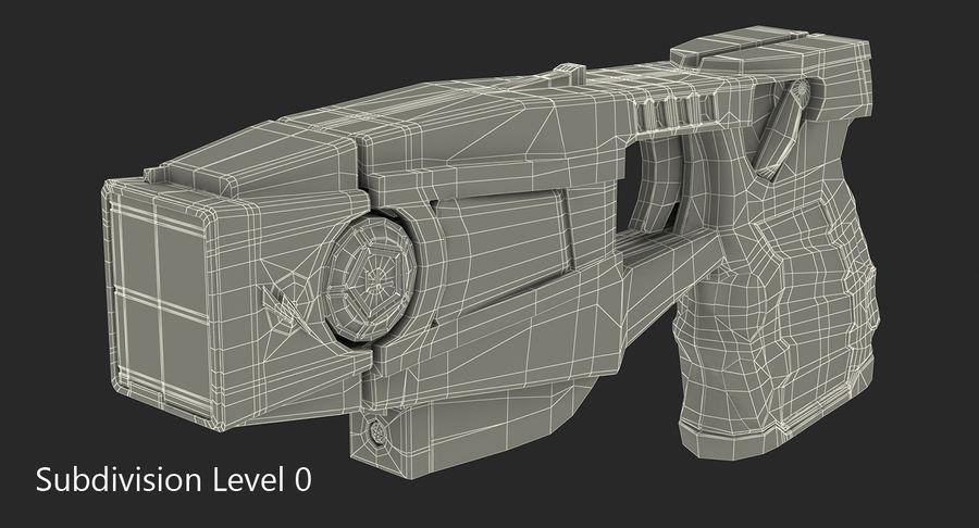 电动武器收藏 royalty-free 3d model - Preview no. 19