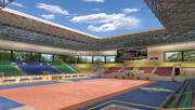 体育竞技场 3d model