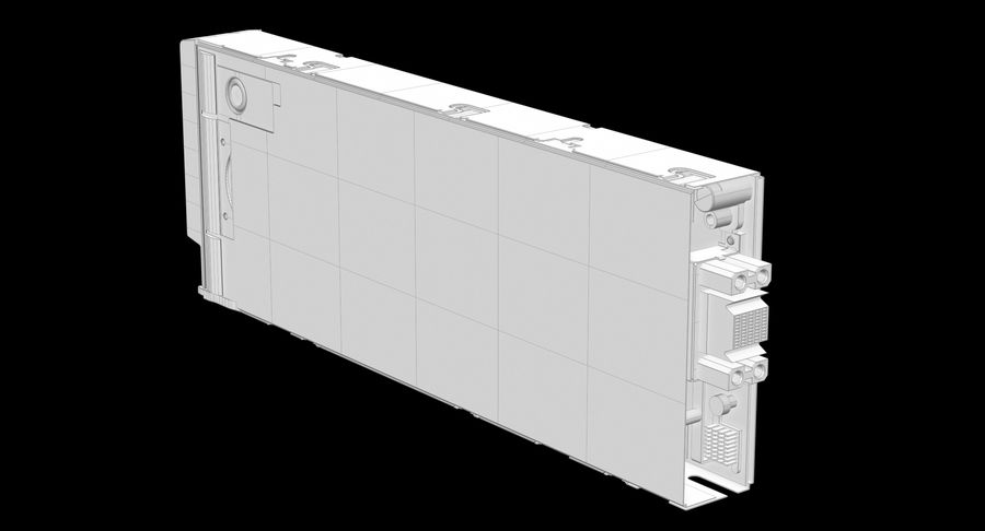 Blade Server Computer royalty-free 3d model - Preview no. 18