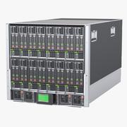Блейд-сервер 3d model