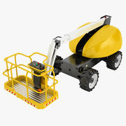 Telescopic Boom Lift 04 3d model