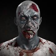 Personaggio zombi in tempo reale 3d model