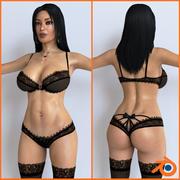 Mujer7_ (Licuadora) modelo 3d