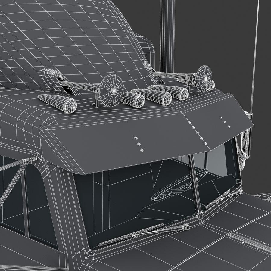 Autocisterna V2 royalty-free 3d model - Preview no. 20