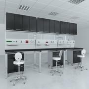 Лабораторная мебель Типичный набор 9 3d model