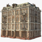 Old City Townhouse 3d model