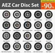 AEZ Car Disc (Wheel) 20 종 세트 3d model