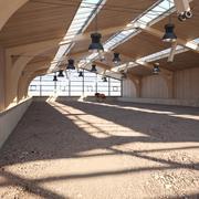 Horse Arena 3d model