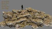 skały 3d model