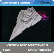 Victory Star Destroyer MKII 3d model