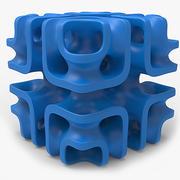 Objeto matemático 0013 3d model