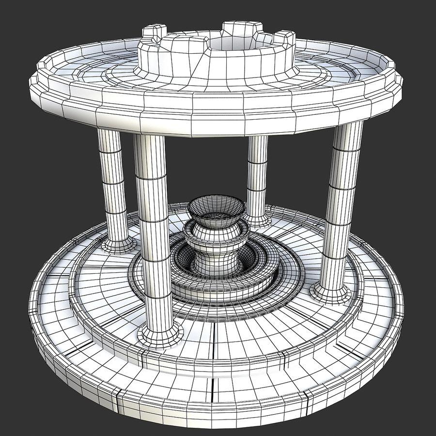 Altar Antiguo royalty-free modelo 3d - Preview no. 2