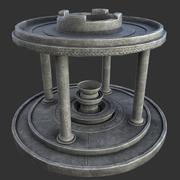 Древний алтарь 3d model