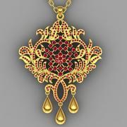 Necklace pendant 3d model