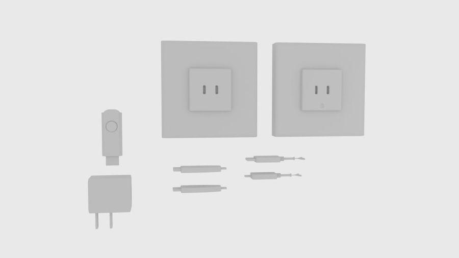 USB-Ladegerät-Komponente royalty-free 3d model - Preview no. 5