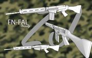 FN FAL .762 3d model