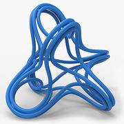Objeto matemático 005 3d model