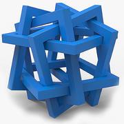 Objeto matemático 0027 3d model