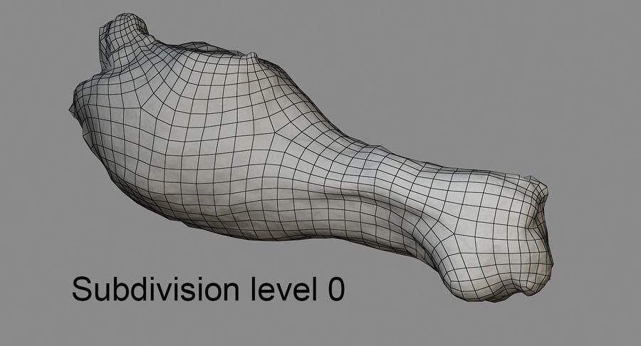 닭다리 royalty-free 3d model - Preview no. 3