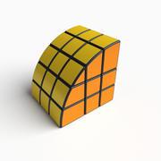 Rare cube puzzle toy 3d model