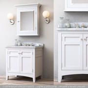 RH CARTWRIGHT SINGLE VANITY modelo 3d