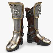 Armor Boot 3d model
