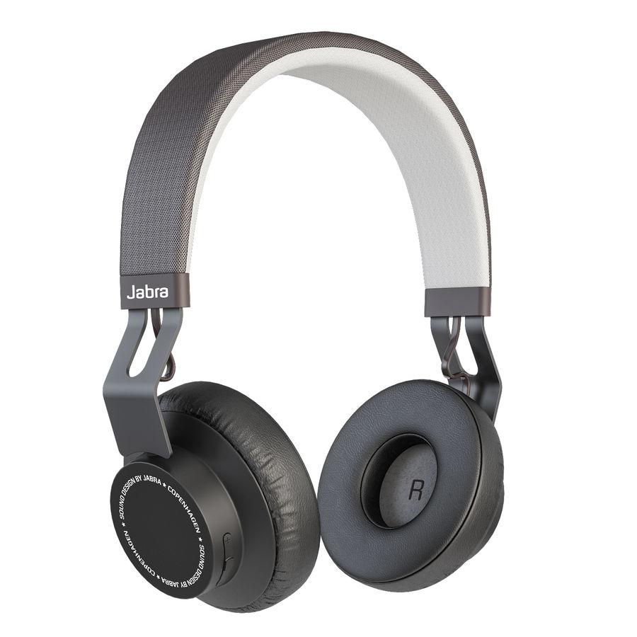 Jabra Move Wireless Headphones 3d Model 20 Max Unknown Obj Fbx Free3d