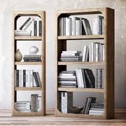 Kolekcja książek 3d model
