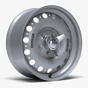 Dunlop D-Type-hjul 3d model