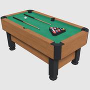 Mesa de bilhar - jogo pronto 3d model