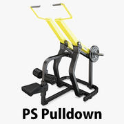 Technogym - Plate Loaded Pulldown 3d model