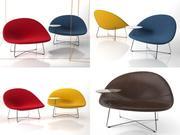 Lounge stoel 3d model