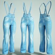 Jeans Salopet 3d model
