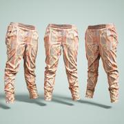 Flower Pants 3d model