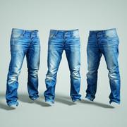 Spodnie jeansowe 3d model