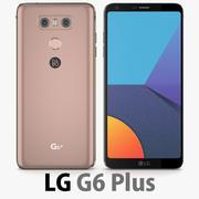 LG G6 Plus (G6 +) arancione 3d model