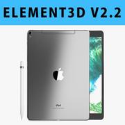 E3D - iPad Pro 10.5 İnç Hücresel Uzay Grisi 3d model
