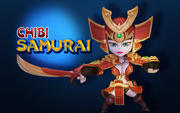 Chibi Samurai 3d model