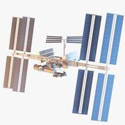 RIGによる国際宇宙ステーション 3d model