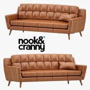 Köşeli & Cranny Duke Kanepe 3d model